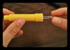 L'insérer dans la partie jaune